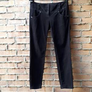 Sisley Corduroy Jeans Low Rise Skinny